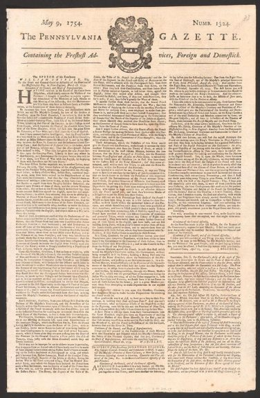 Pennsylvania_Gazette_(May_9,_1754),_page_1